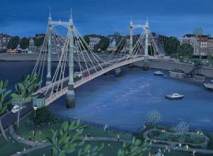 Jenni Murphy Art - Albert Bridge